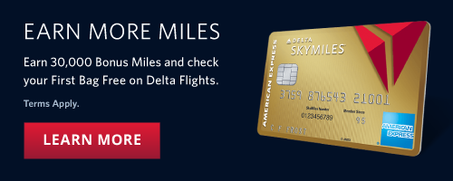 Earn More Miles 30 000 Bonus And Check Your First Bag Free On Delta Flights
